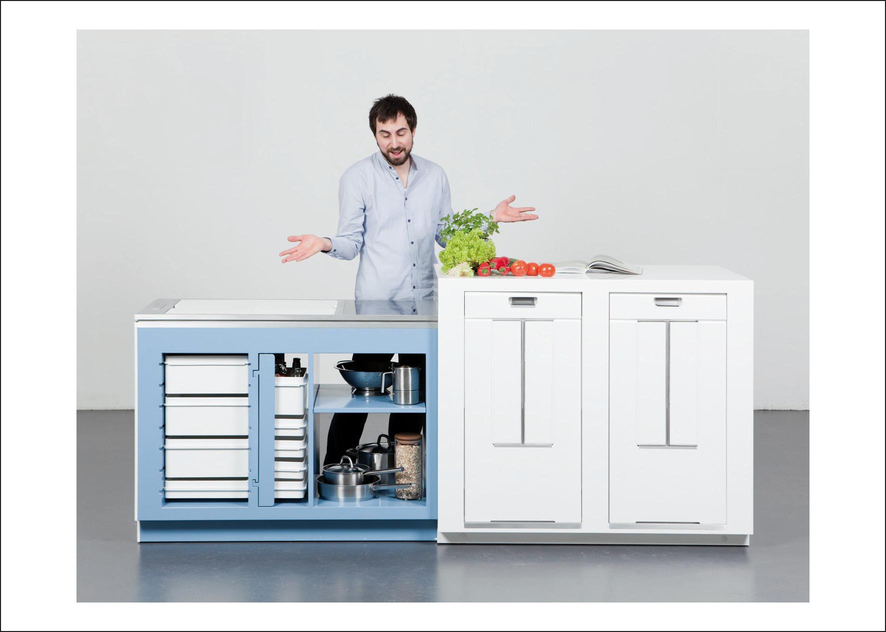 Entwürfe - 1, 2, 3 … leichte Küche